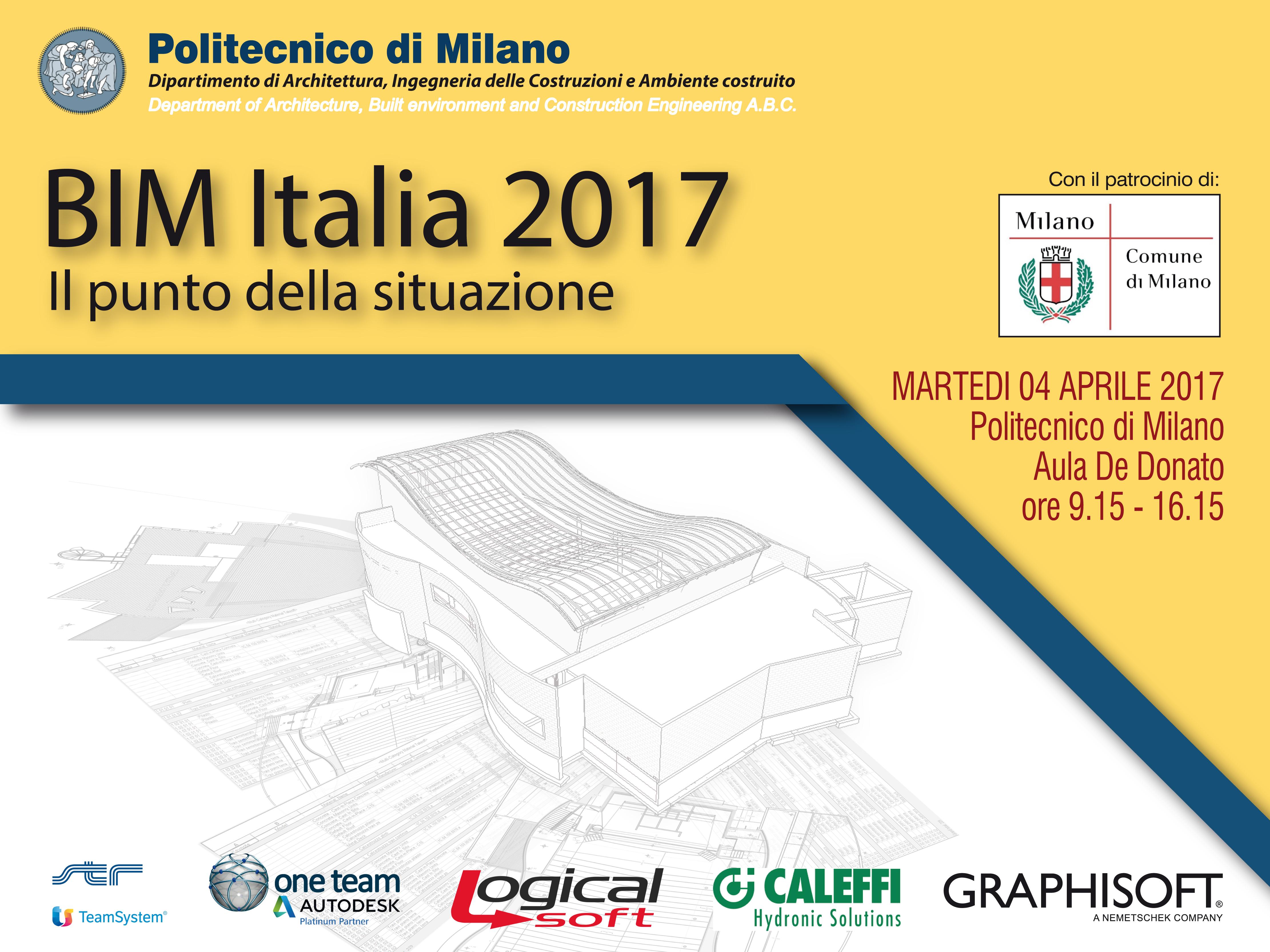 BIM Italia 2017. Il punto della situazione